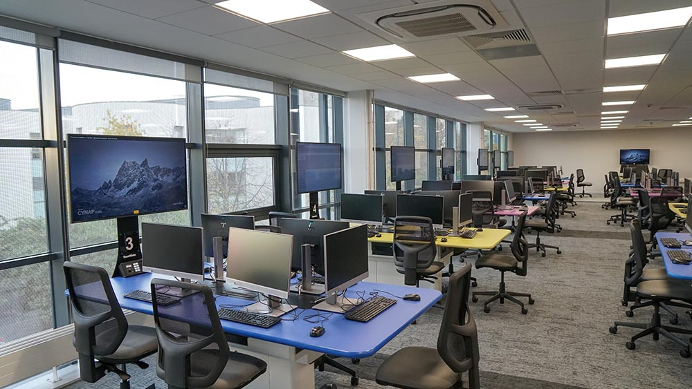 Multi-functional collaboration room, University of Dundee, Dalhousie Building