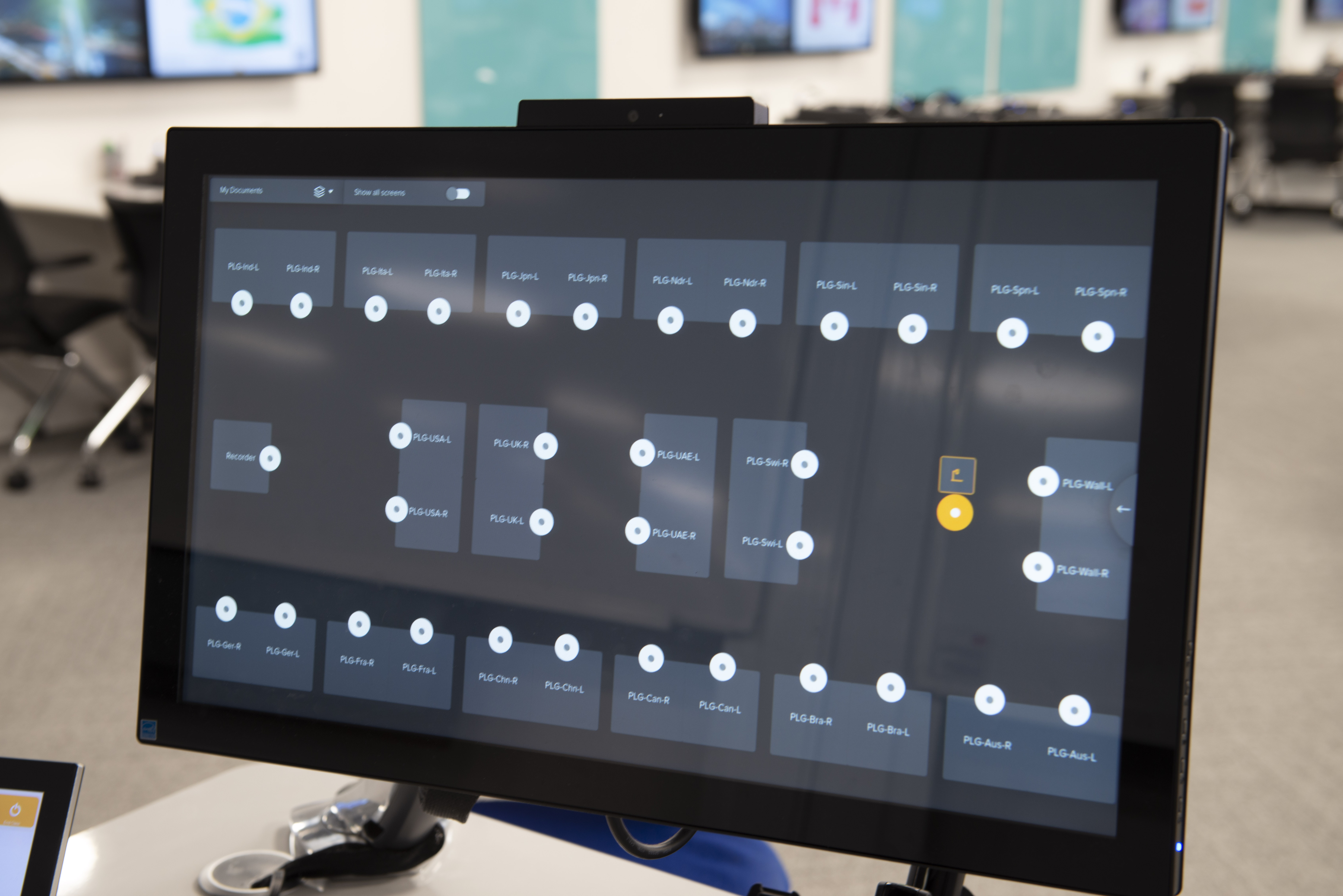 WolfVision vSolution MATRIX active learning classroom collaboration system, installed at London Business School