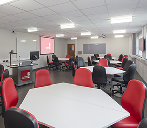 Staffordshire University, UK, Cynap in collaborative learning spaces