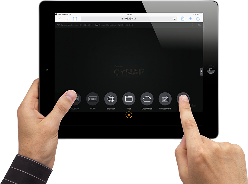 BYOD iPad wireless control!