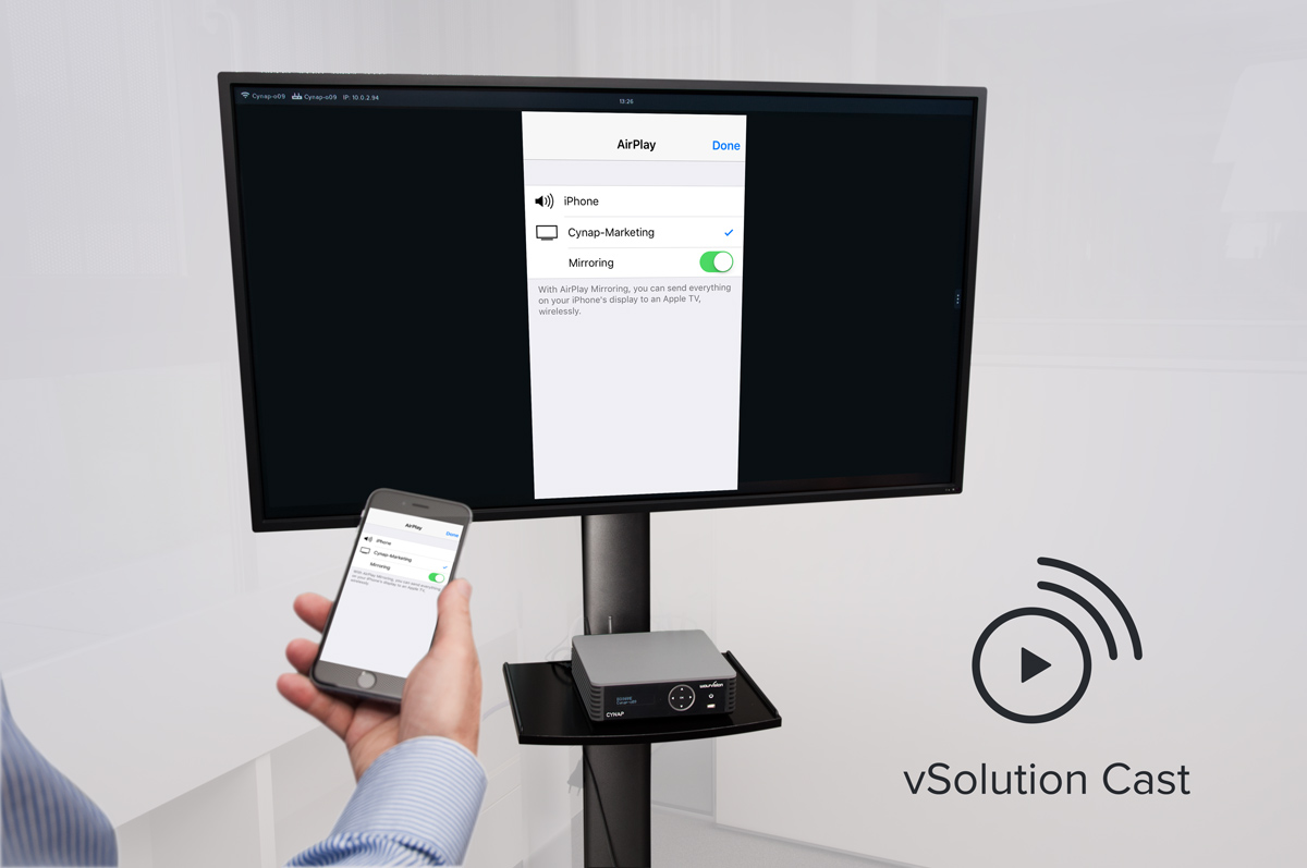 vSolution Cast for iOS